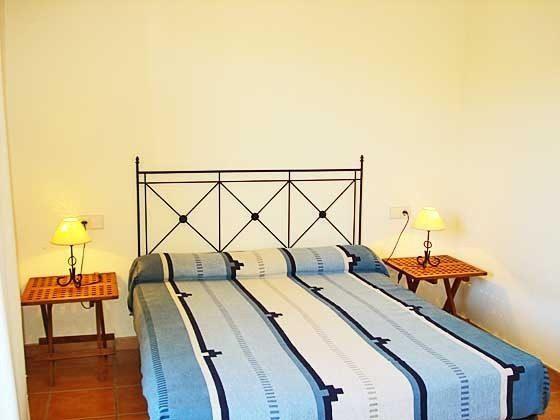 Doppelbett  Mas Pinell 33 Ferienhäuser in Wohnanlage Ref. 140331-19