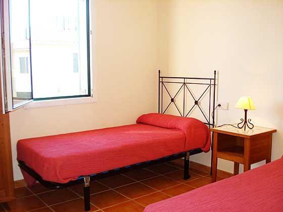 Einzelbetten  Mas Pinell 33 Ferienhäuser in Wohnanlage Ref. 140331-19