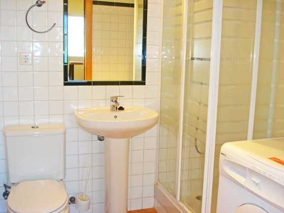 Duschbad  Mas Pinell 33 Ferienhäuser in Wohnanlage Ref. 140331-19