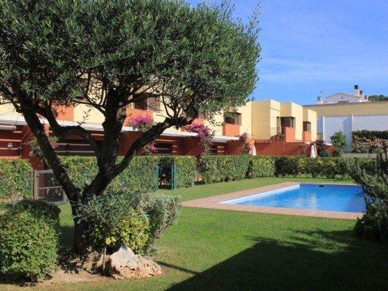 Ferienhaus Costa Brava mit nahegelegener Tennisanlage