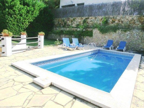 Pool Lloret de Mar Ferienhaus Ref. 140331-27