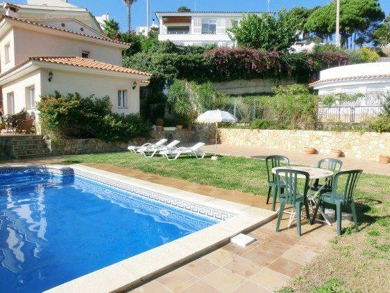 Pool Lloret de Mar Ferienhaus Ref. 140331-29