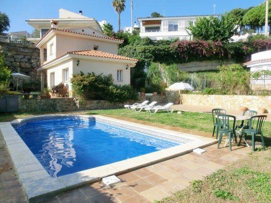 Ferienhaus Costa Brava mit Kamin