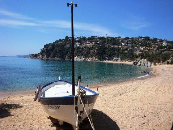 Strand Cala Canyelles