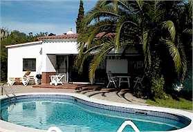 Spanien Costa Brava Lloret de Mar Ferienhaus Dos Palmeras