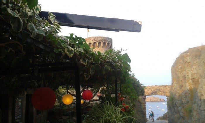 Restaurant im Burggelände