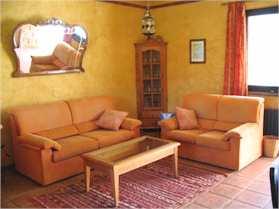 Ferienhaus Casa Meca Apartment Brena Wohnzimmer