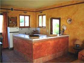 Ferienhaus Casa Meca Apartment Brena Kuechenbereich