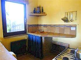 Ferienhaus Casa Meca Studio Kueche