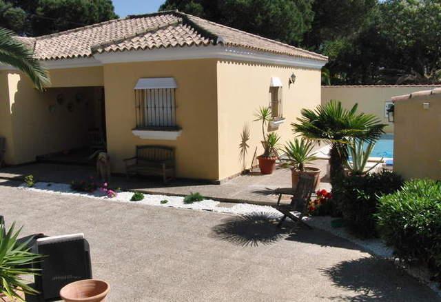 Ferienhaus Costa de la Luz mit nahegelegener Tennisanlage