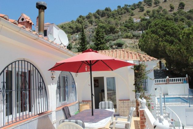 Andalusien Ferienhaus Villa Ref. 186793-2 Terrasse am Pool