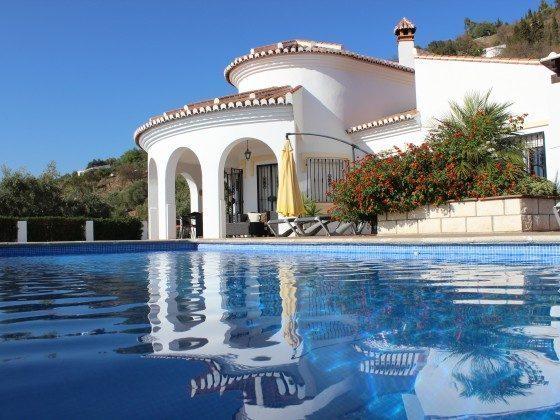 Andalusien Ferienhaus Villa Sayalonga Ref. 186793-7 Pool