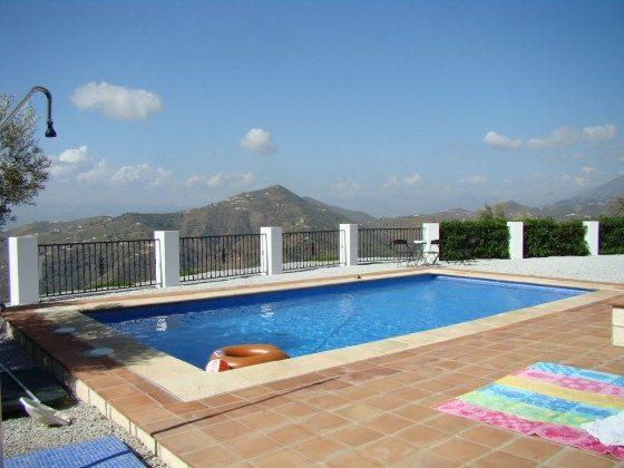 Andalusien Ferienhaus Villa Sayalonga Ref. 186793-7 Aussicht Pool