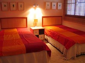 Schlafzimmer Ferienwohnung Playa Galera