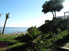 Blick Ferienwohnung Playa Galera