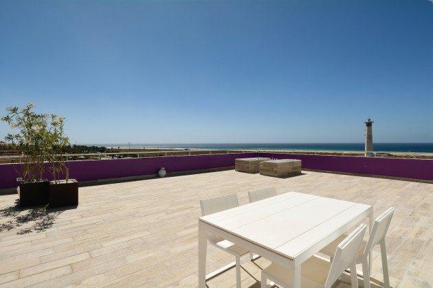 Spanien Kanarische Inseln Penthouse mit Meerblick auf der Insel Fuerteventura