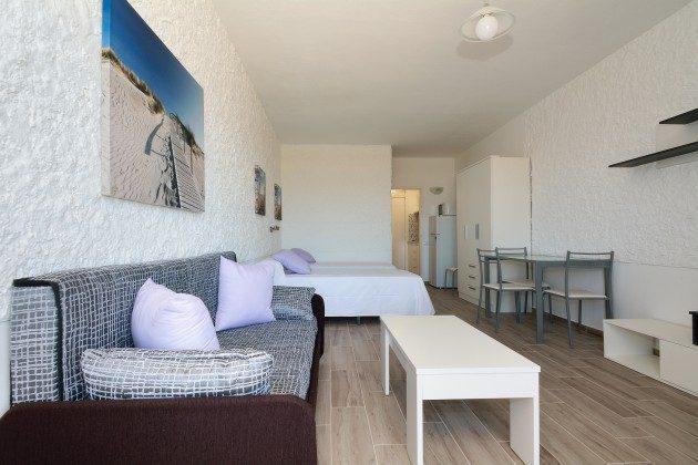 FUE 110068-56 Wohnbeispiel Studio mit kombiniertem Wohn- und Schlafraum