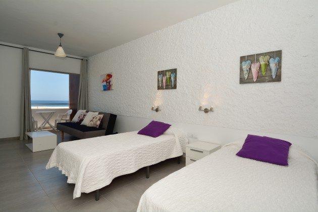 FUE 110068-58 Schlafbereich mit zwei Einzelbetten