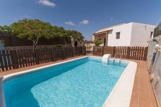 Spanien Kanaren Insel Fuerteventura Ferienhaus mit Pool