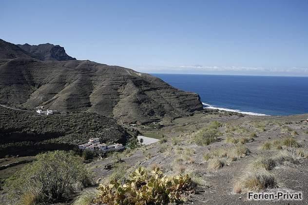 Küste und Meer bei El Risco