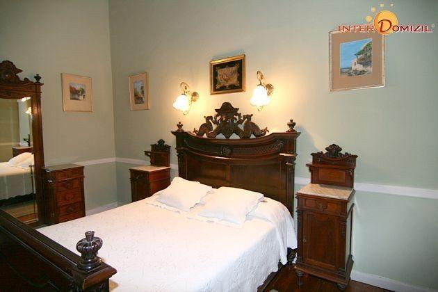 Schlafzimmer der Suite im Hotel