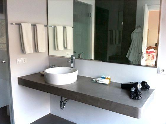 Wohnbeispiel Junior Suite Badezimmer