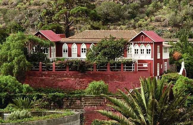 Kanarische Inseln Gran Canaria Landhotel mit Pool im Agaete Tal