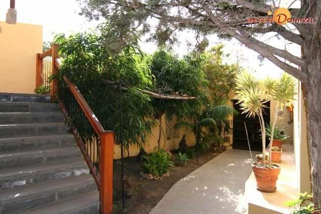 Garten im zweiten Innenhof des Landhotels