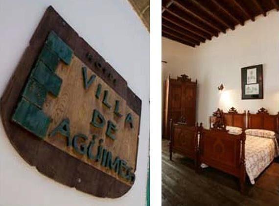 Schild und Wohnbeispiel Zimmer