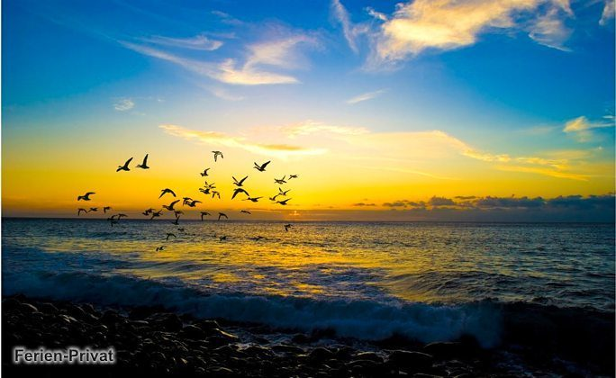 Sonnenuntergang Strand von Aldea