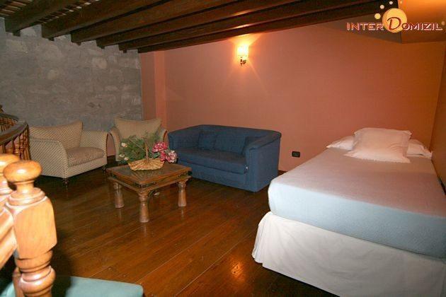 Wohnbeispiel Suite Sitzecke und Zusatzbett