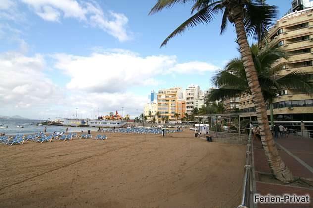 Gran Canaria Ferienwohnung am Canteras Strand