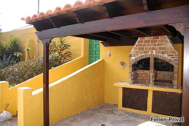 Außenbereich mit Grill