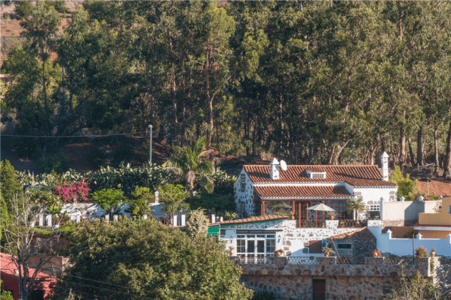 GC 2584-66 Wohnbeispiel Blick aus der Ferne auf das Haus