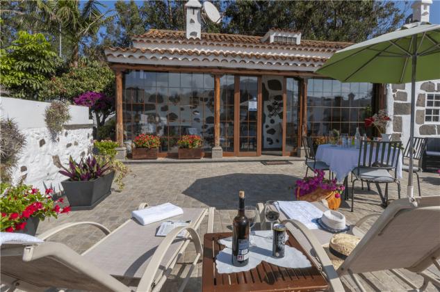 Ferienhaus mit Terrasse und Gemeinschaftspool