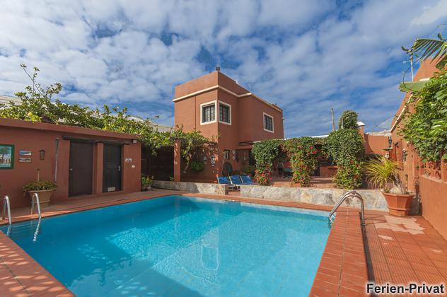 Ferienhaus Gran Canaria mit privatem Pool