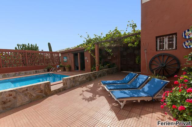 Ferienhaus auf Finca mit Pool
