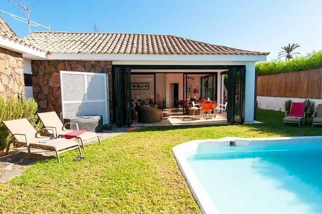 Kanaren Gran Canaria Maspalomas Villa mit privatem Pool