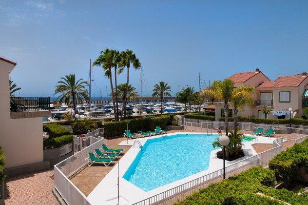 Kanarische Inseln Bungalow Gran Canaria mit Gemeinchaftspool