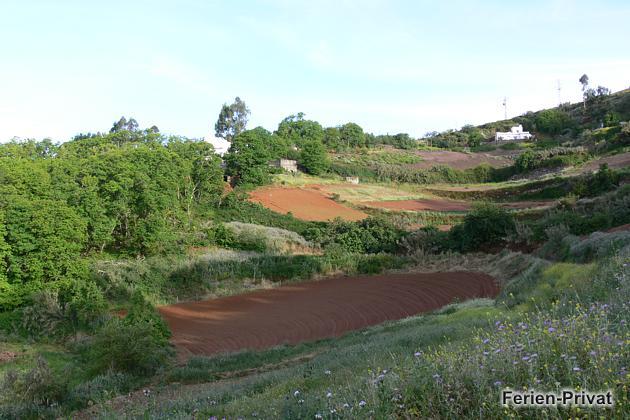 Ausblick auf die Landschaft