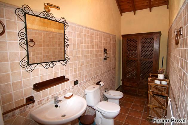 Badezimmer mit Bidet
