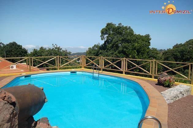 schöner Ausblick vom Pool