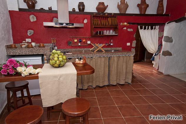 Küche mit Esstheke