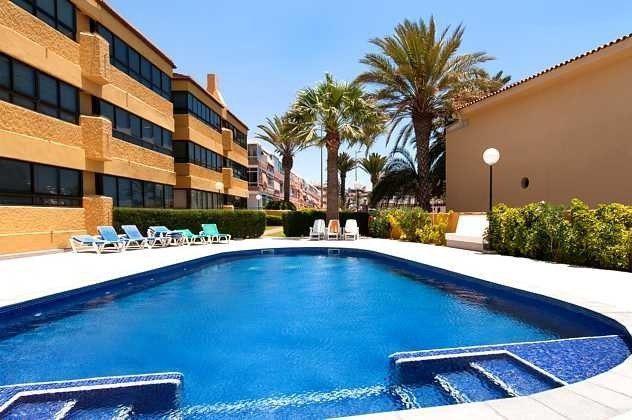 Spanien Kanarische Inseln Ferienwohnung im Süden von Gran Canaria mit Meerblick und Pool