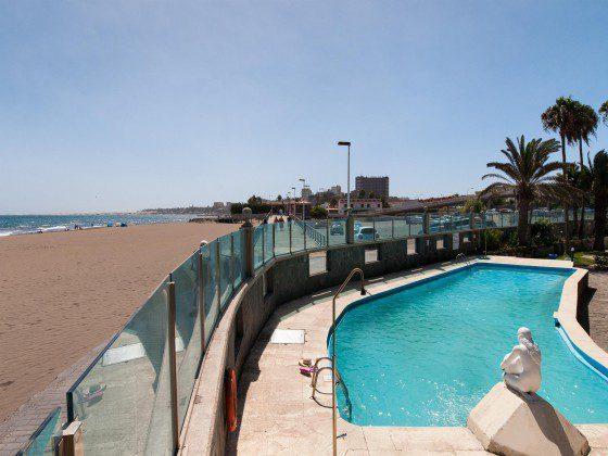 Spanien Kanarische Inseln Apartment mit Terrasse am Strand von Gran Canaria