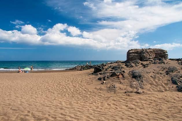 Strand Playa de San Agustin