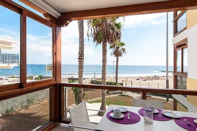 Spanien Kanaren Gran Canaria Ferienapartment im Süden mit Meerblick