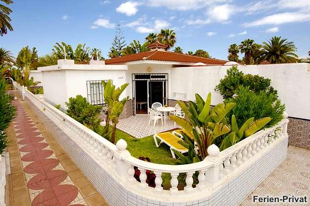 Ferienbungalow Gran Canaria mit Terrasse und Pool
