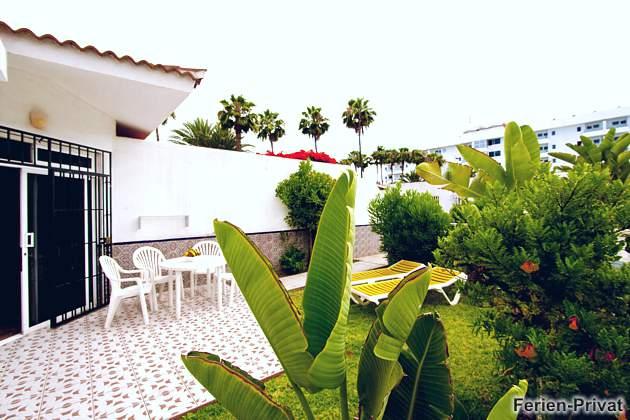 Wohnbeispiel Terrasse und kleiner Garten