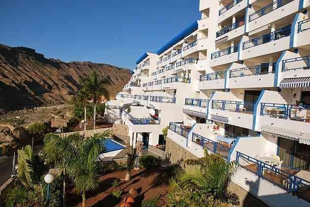 Kanaren Gran Canaria Apartment mit Meerblick